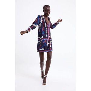 Zara Nautical Blazer Dress